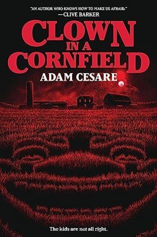 Clown in a Cornfield Cover