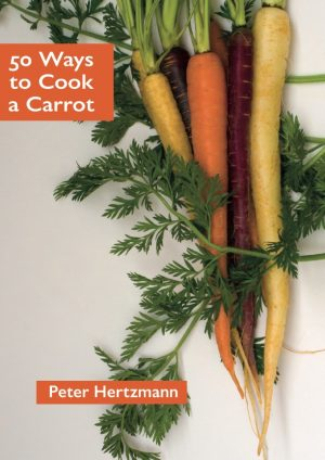 Book cover featuring carrots