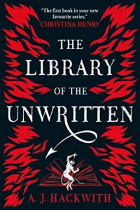 The Library of the Unwritten book cover