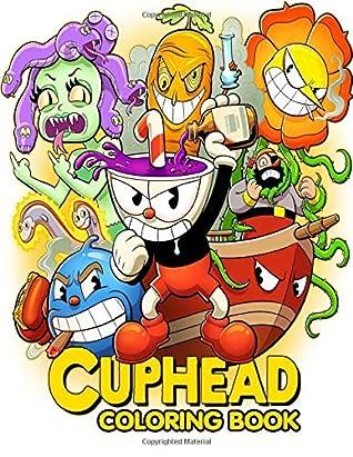 Cuphead Coloring : cuphead, coloring, Cuphead, Coloring, Book:, Brother, Mugman, Their, Adventure, Patricia, Simon