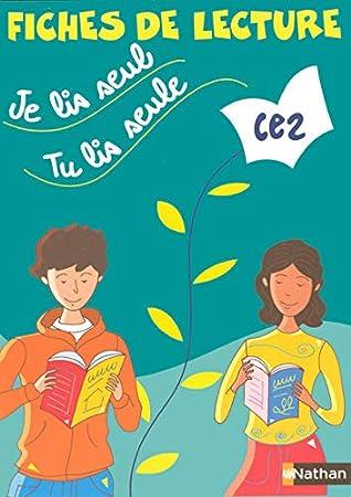Je Lis Seul Tu Lis Seul : Seul,, Seule..., Fiches, Lecture, Véronique, Calle