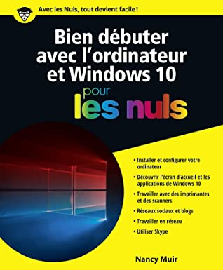 Windows 10 Pour Les Nuls : windows, Débuter, L'ordinateur, Windows, Nancy