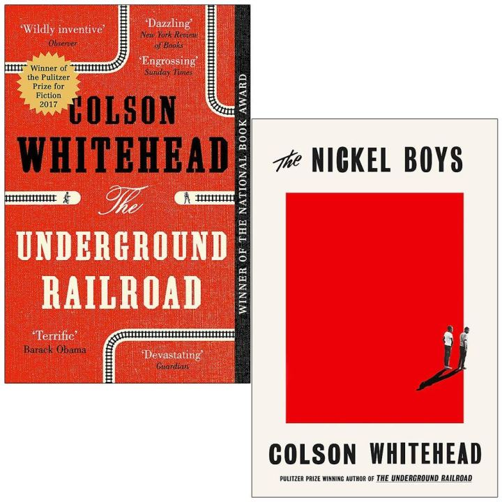 The Underground Railroad & The Nickel Boys By Colson Whitehead 2 Books  Collection Set by Colson Whitehead