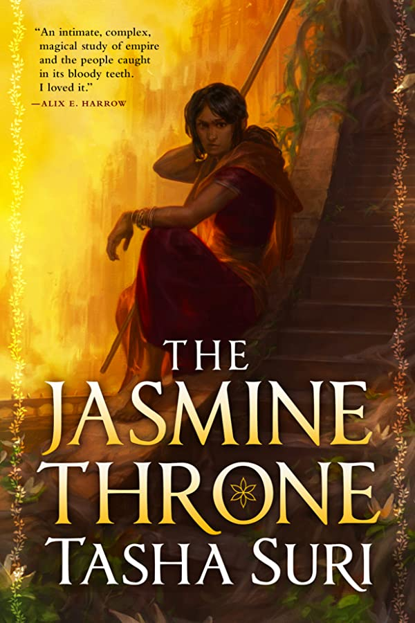 The Jasmine Throne (Burning Kingdoms, #1) book cover book cover