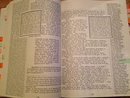 Image result for house of leaves pages