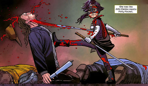 Image result for kick-ass comic