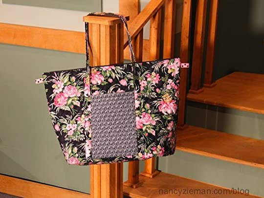 Nancy Ziemans Blog  Easy to Sew Travel Bags with Quilted