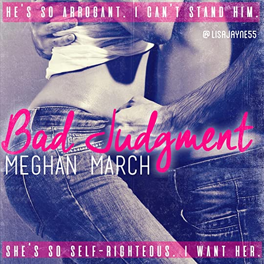 Bad Judgment By Meghan March