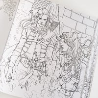 The Throne of Glass Coloring Book by Sarah J. Maas ...