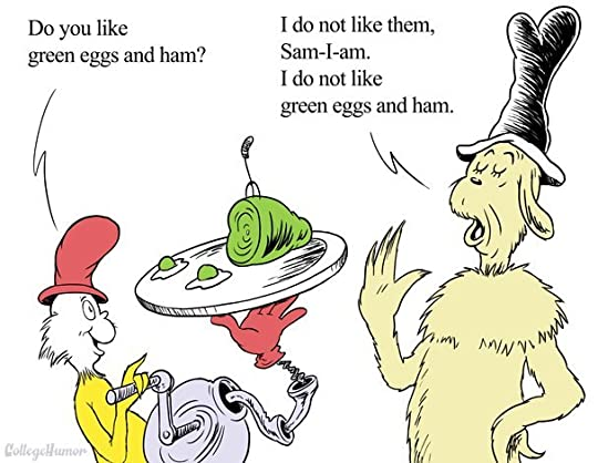 green eggs and ham topic and meaning # 4