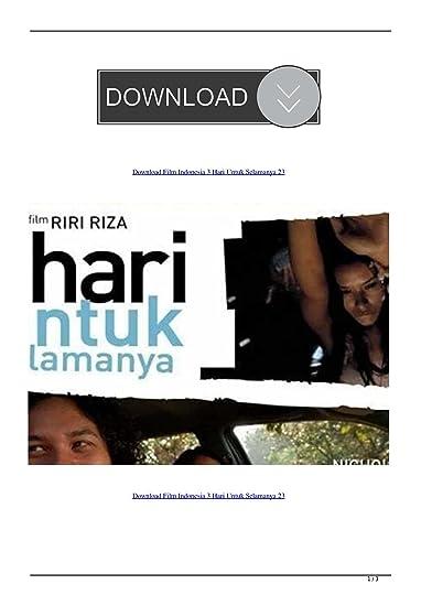 3 Hari Untuk Selamanya Full Movie : untuk, selamanya, movie, Calgary, Community, Download, Indonesia, Untuk, Selamanya, Showing