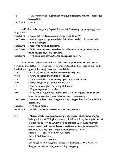 Drama Bahasa Jawa 5 Orang : drama, bahasa, orang, Better, Roads, Naskah, Drama, Cerita, Rakyat, Bahasa, Showing