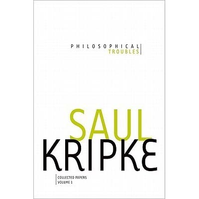Philosophical Troubles: Collected Papers, Vol. 1 by Saul A