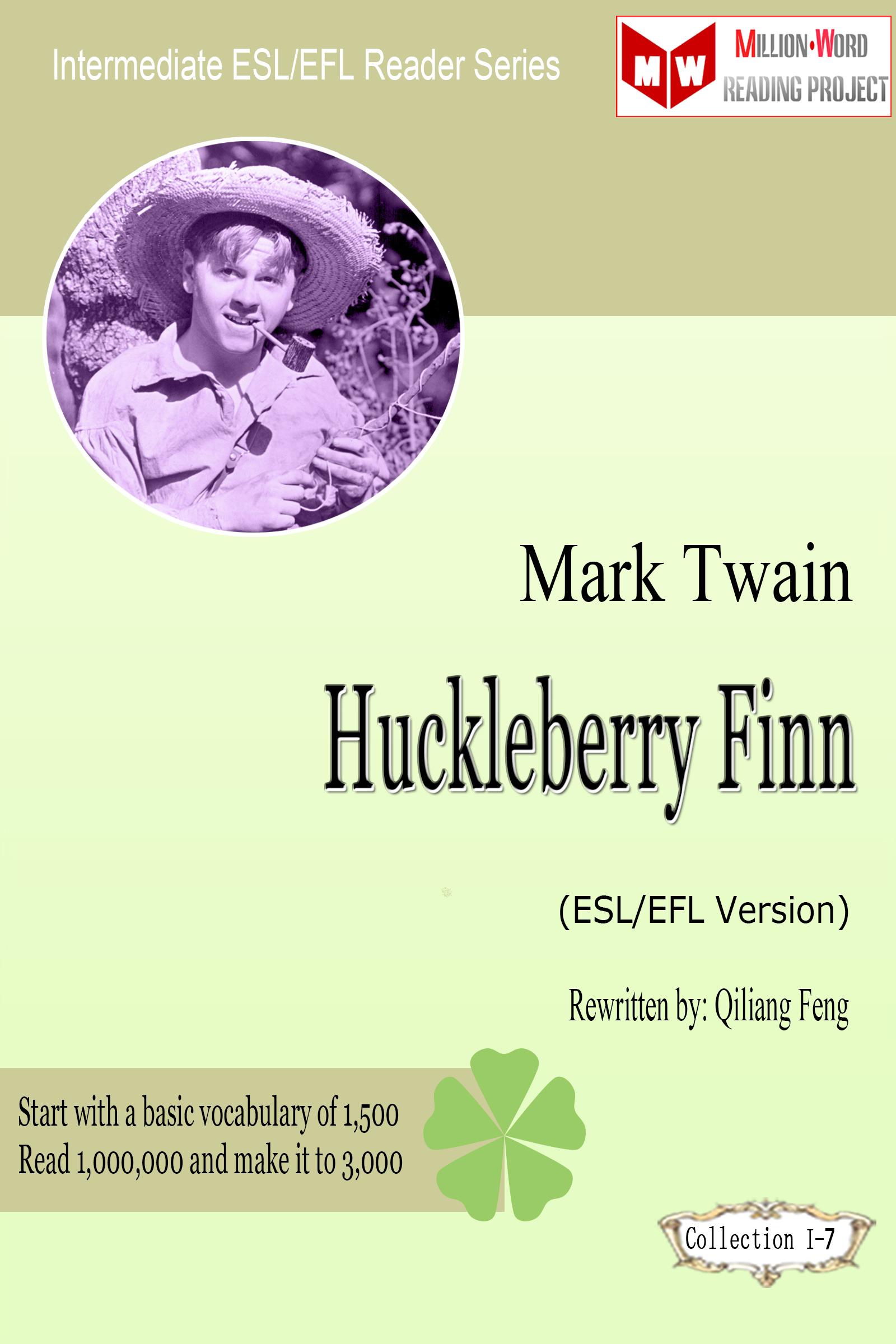 Mark Twain Huckleberry Finn By Qiliang Feng