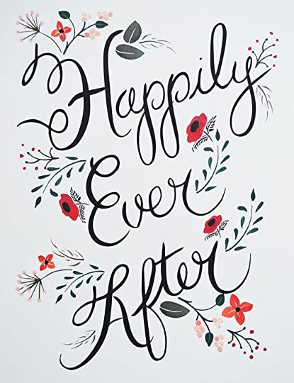 Happily Ever After Wedding Print by firstsnowfall on Etsy, $35.00