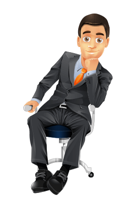 cute desk chairs target rattan and table 101 free business vector characters from all over the web