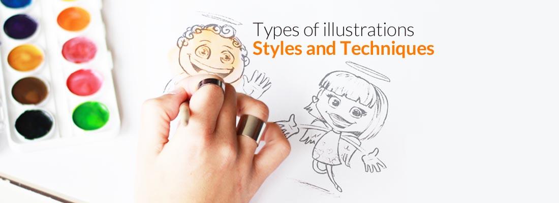 types of illustration styles