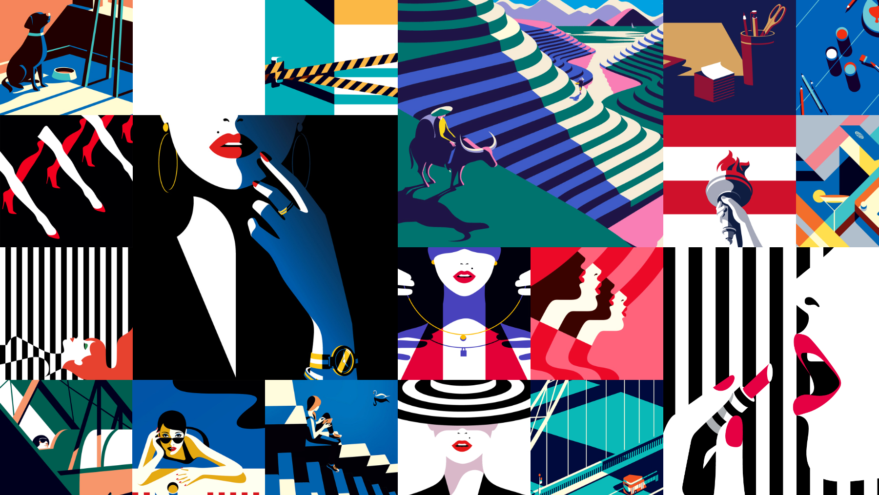 34 Fantastic Examples of Illustration Styles in Web Design