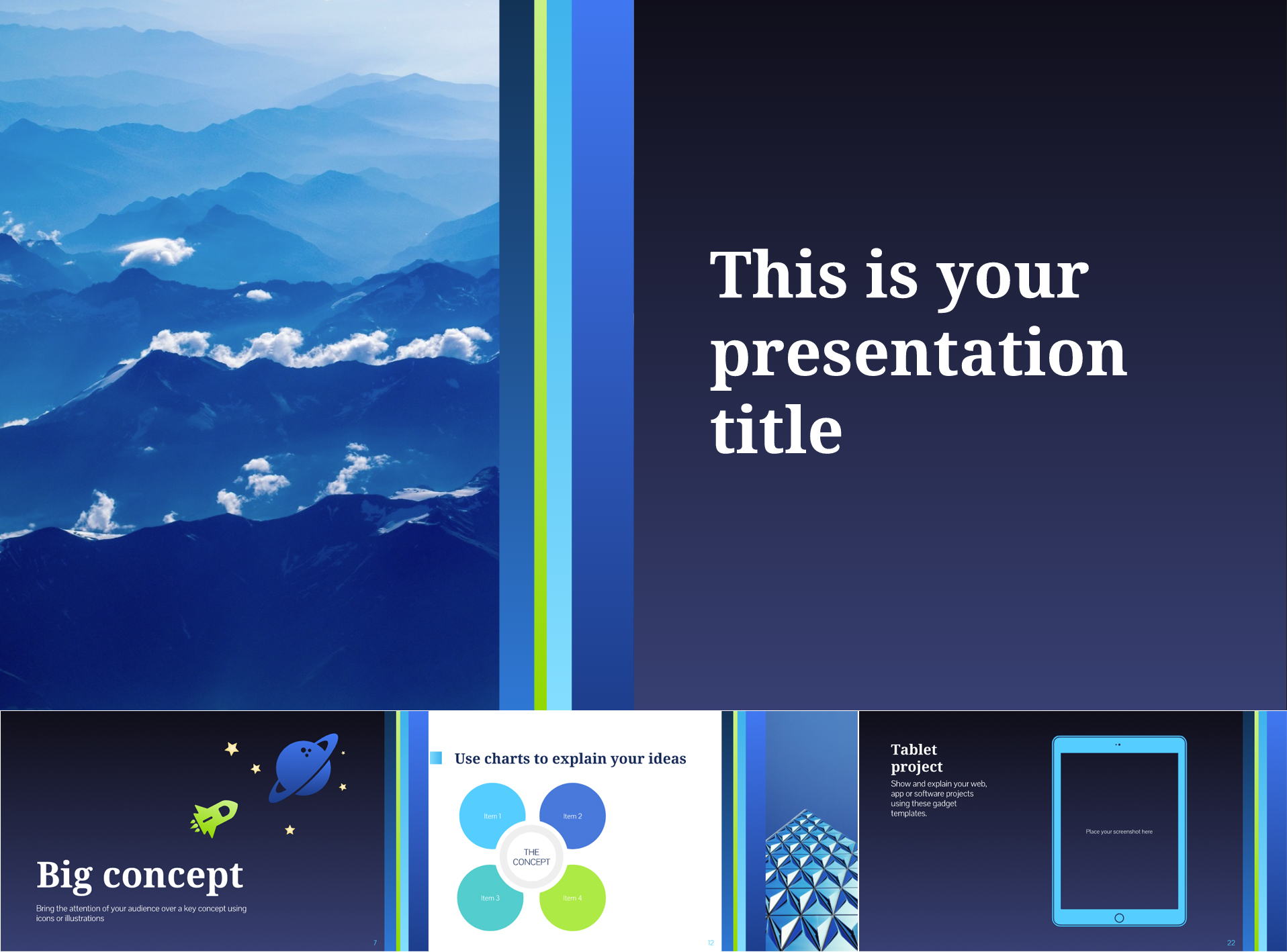 Business Themed Free Google Slides Templates - The Internet Tips