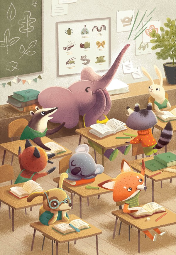 Child Book Illustration