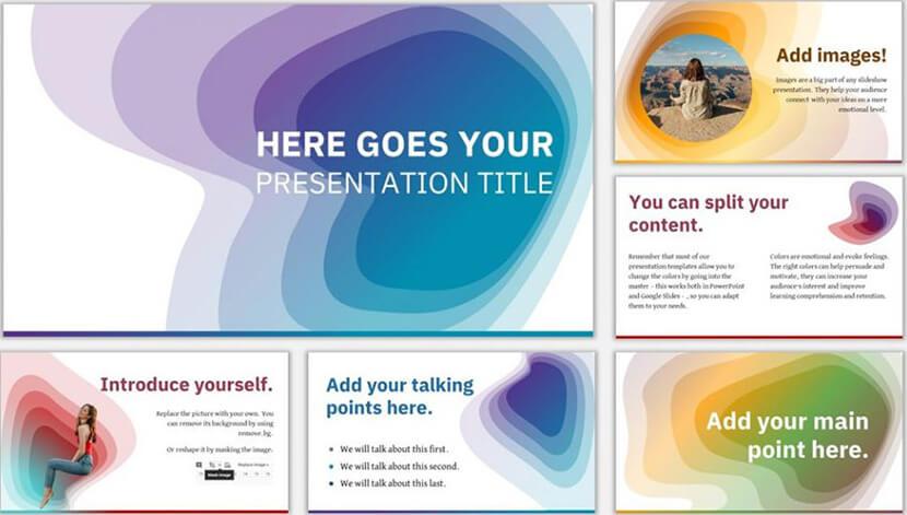 caynon free google slides presentation template - The Internet Tips