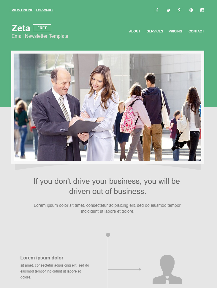 Canva's newsletter templates for business are also a great way to show your industry expertise. 99 Free Responsive Html Email Templates To Grab In 2020