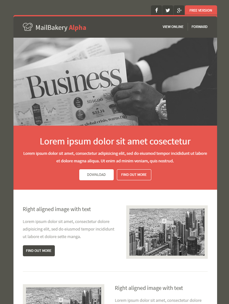 Baker, crs abr sfr cdpe is a contributor for fit small business' real estate section and the broker~owner of at home real estate gro. 99 Free Responsive Html Email Templates To Grab In 2020