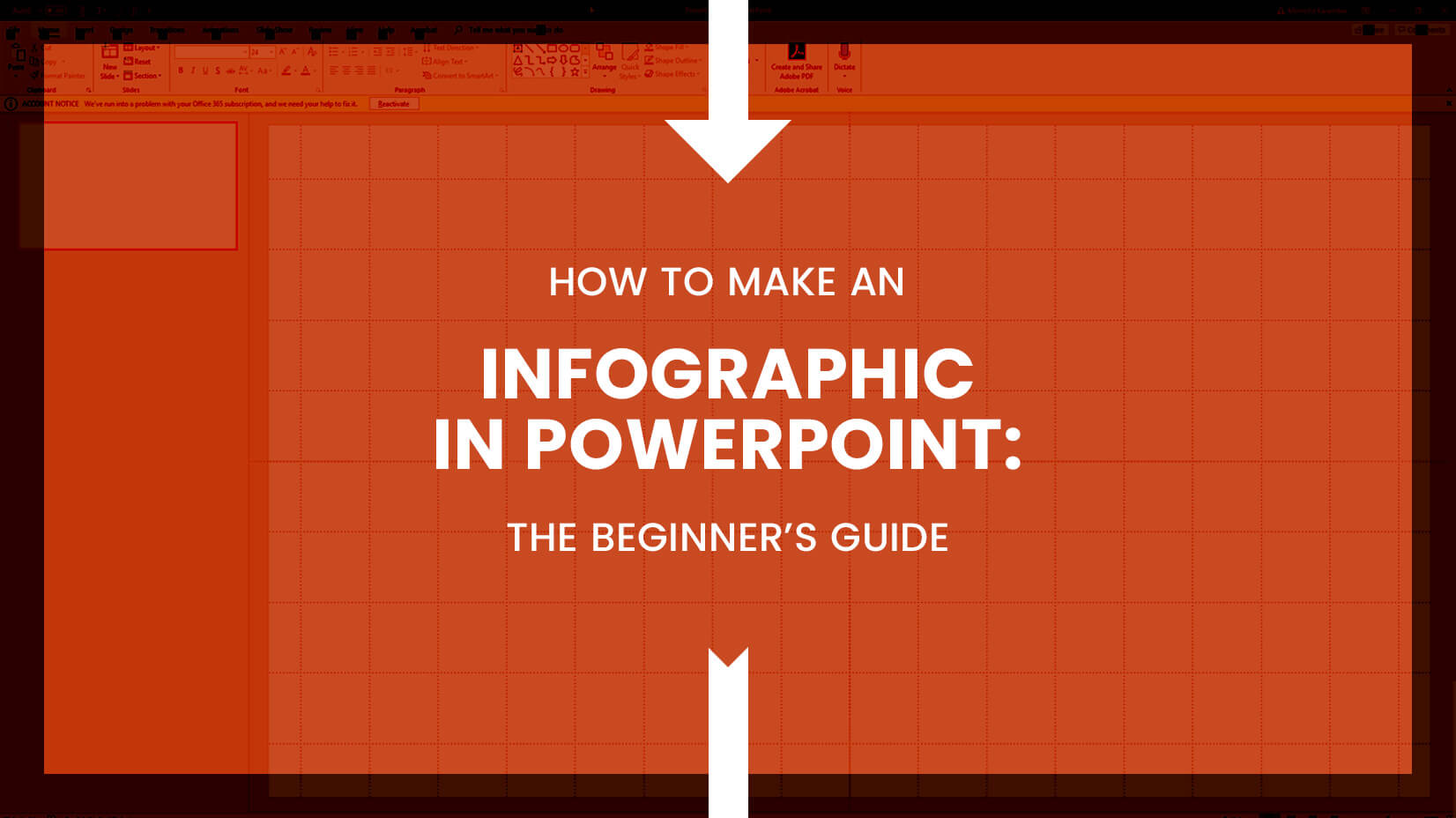 an infographic in powerpoint