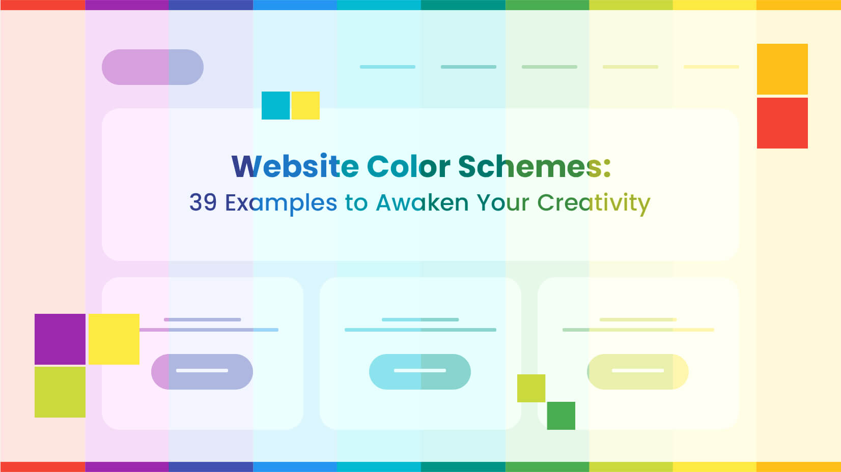 39 inspiring website color