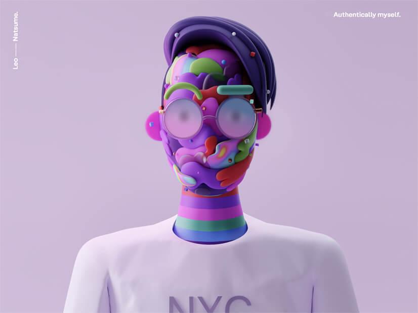 3D Design example Leo Natsume