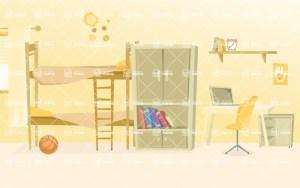 vector bedroom illustration background kid backgrounds graphicmama