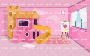 background vector kid interior illustration backgrounds graphicmama