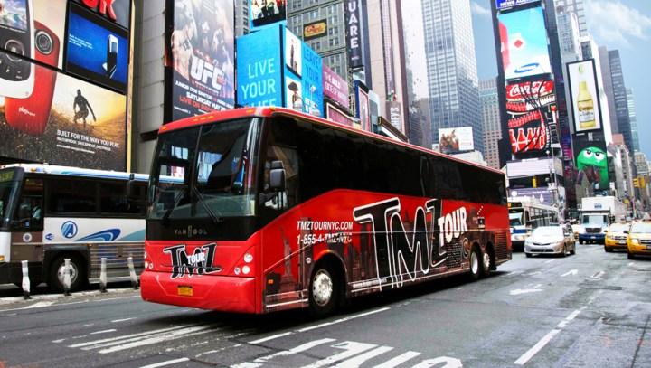 Tmz tour nyc for Tmz tour new york city