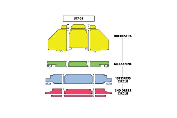 Carpenter Theater Richmond Va Seating Chart Brokeasshome Com