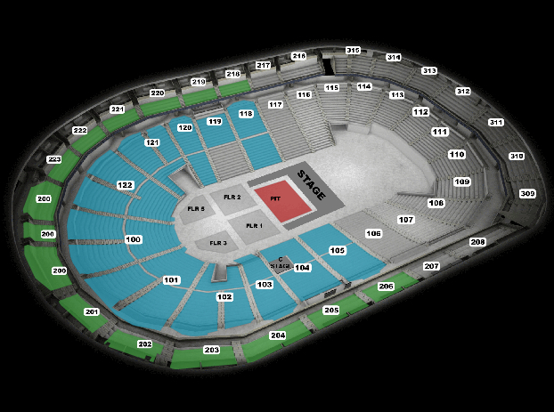 Hunter hayes seating chart also infinite energy center arena atlanta tickets schedule rh goldstar