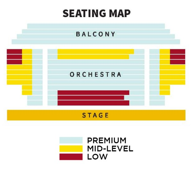 George Street Theater Seating Chart Brokeasshome Com
