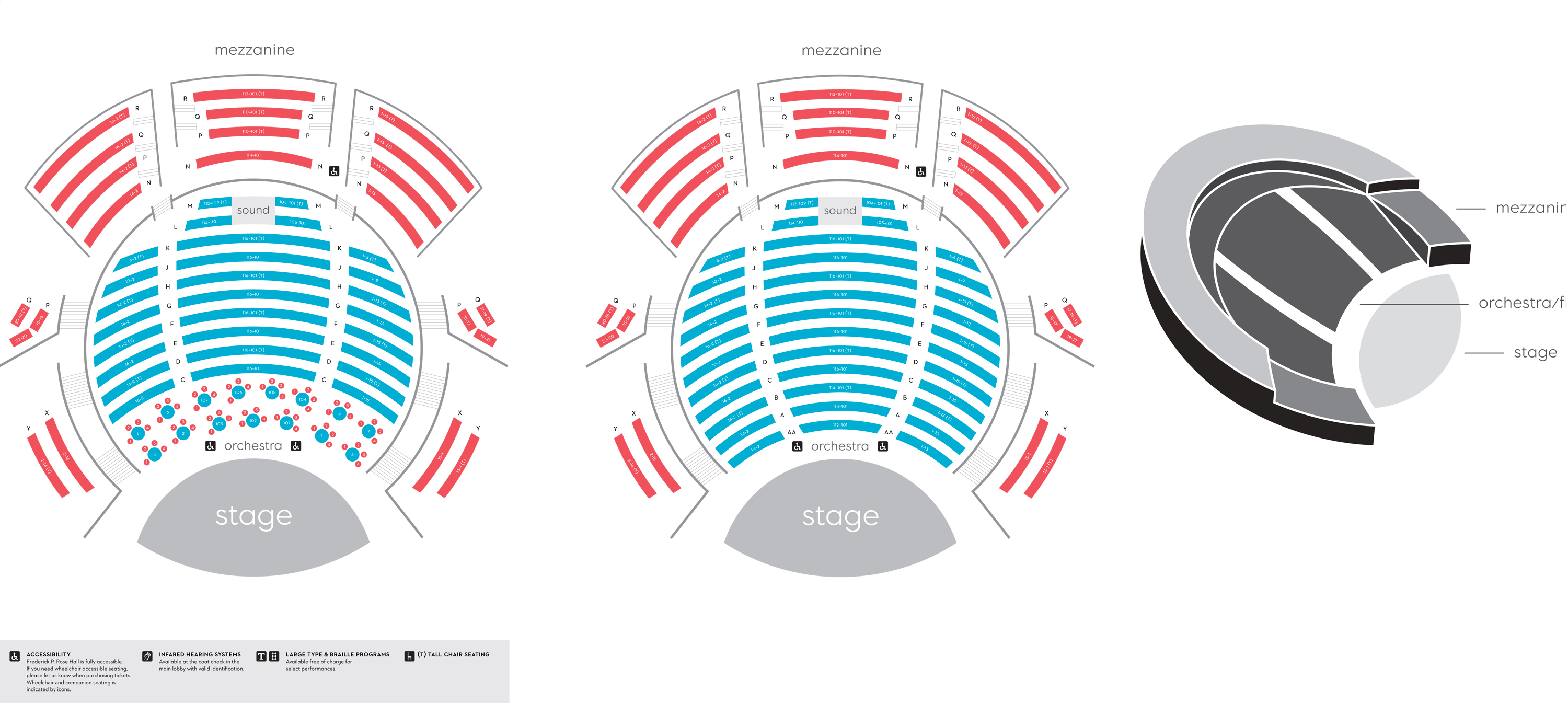 Lincoln center seating chart appel room also the at jazz new york tickets rh goldstar