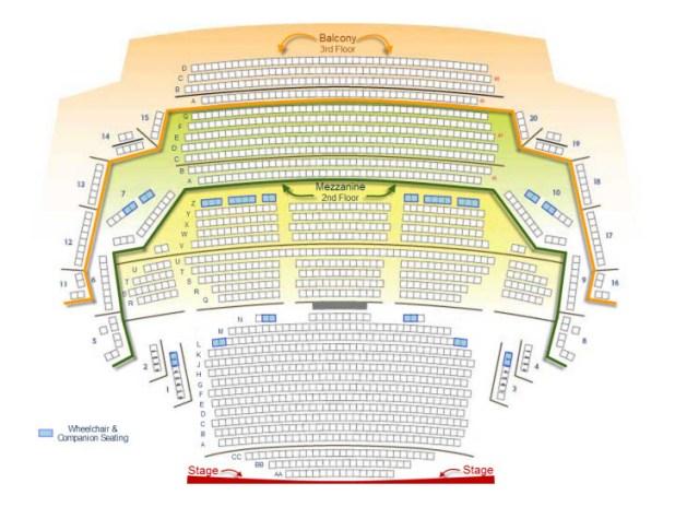 Ikeda Theater Seating Chart Brokeasshome Com
