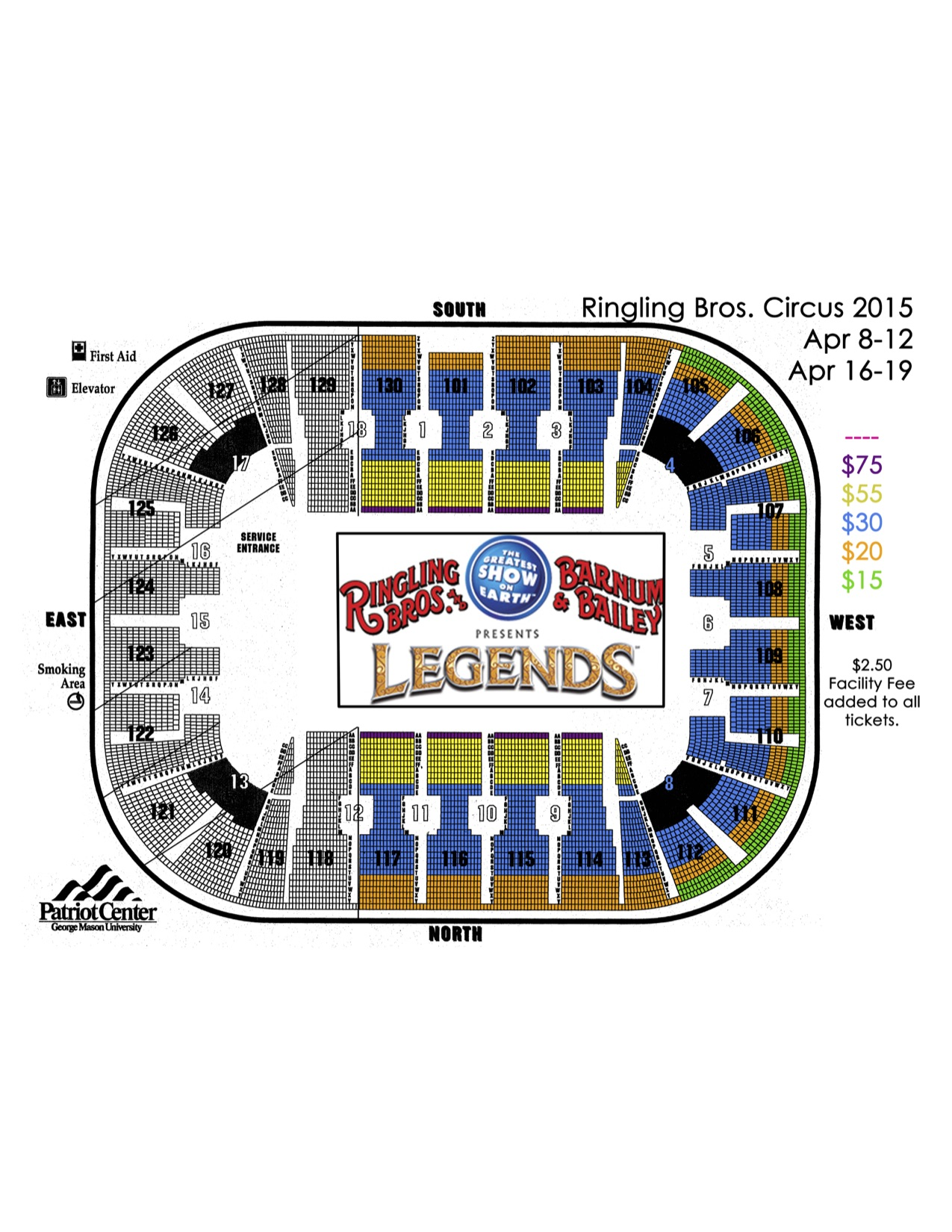 Seating chart also eaglebank arena washington   tickets schedule charts rh goldstar
