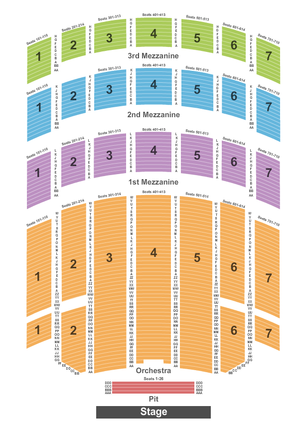 Radio City Christmas Spectacular Seating Chart New Deals