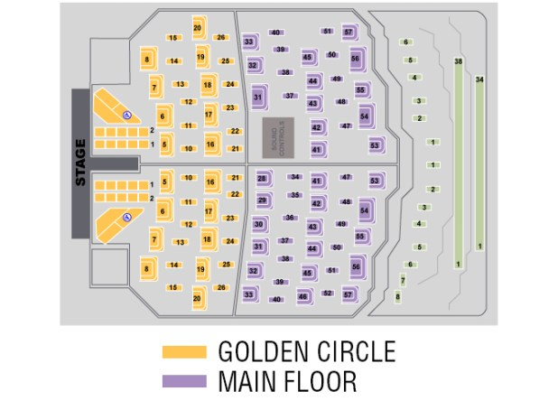 donny and marie seating chart | Brokeasshome.com