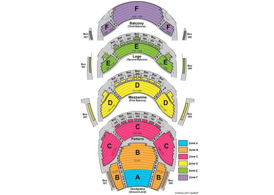 Ellie caulkins opera house also denver tickets schedule seating rh goldstar