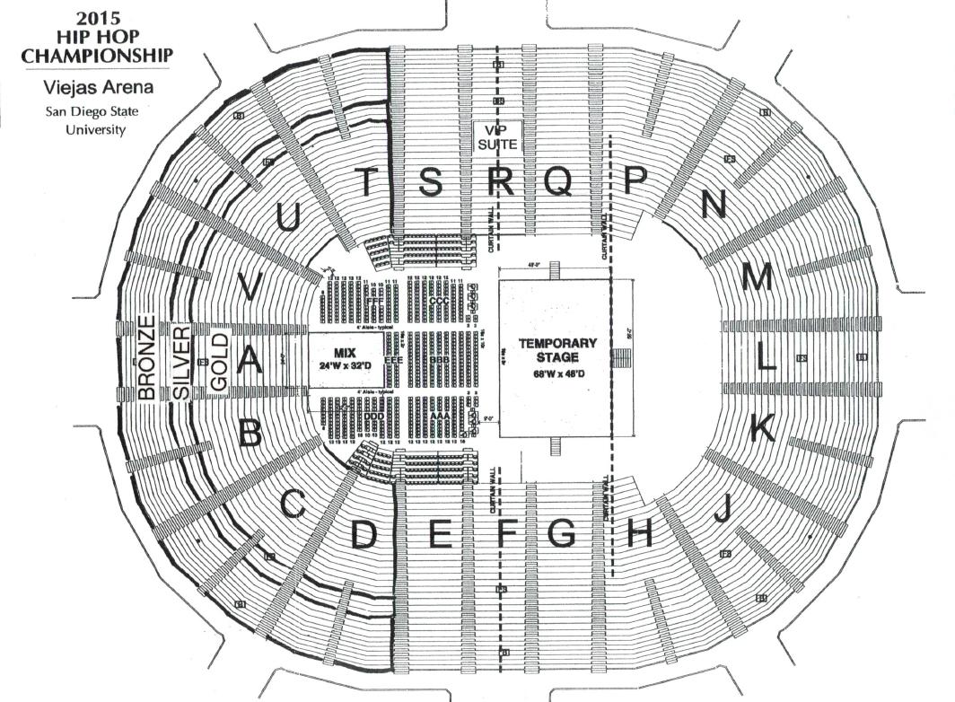 Ellie goulding seating also viejas arena san diego tickets schedule charts goldstar rh