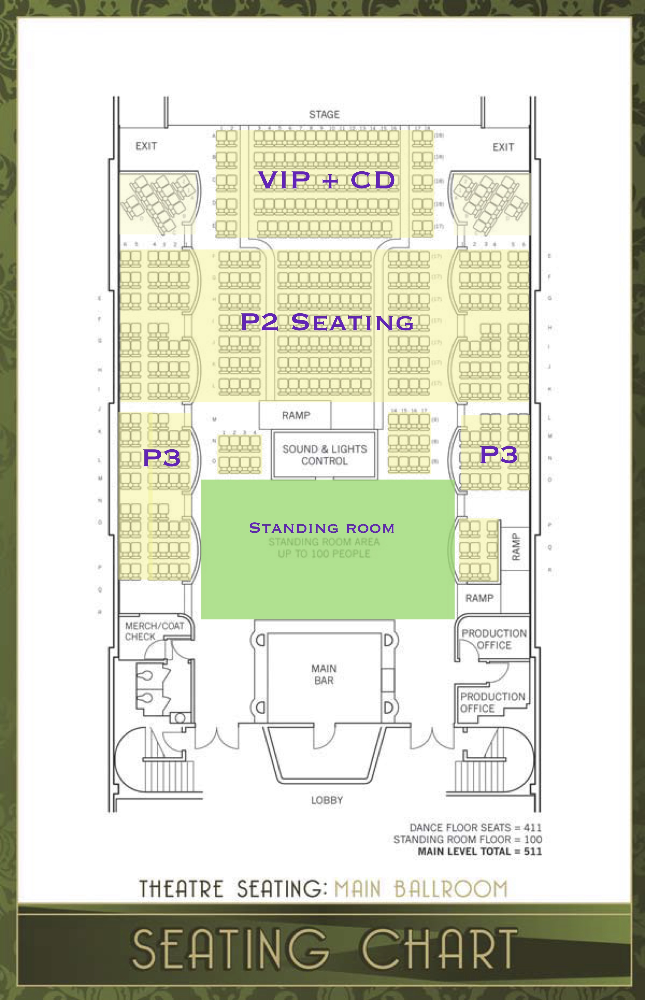 Los angeles seating chart  el rey theater also theatre tickets schedule charts rh goldstar