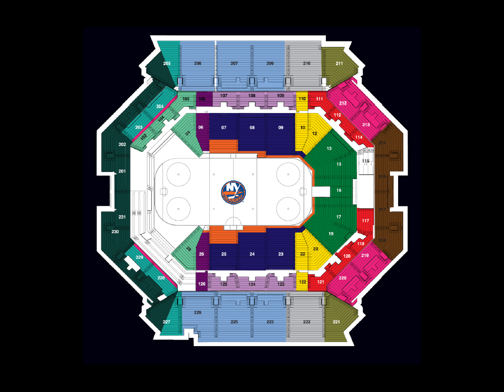 Barclays concert seating chart lovely new york islanders adrift   credit to also elcho table rh elchoroukhost