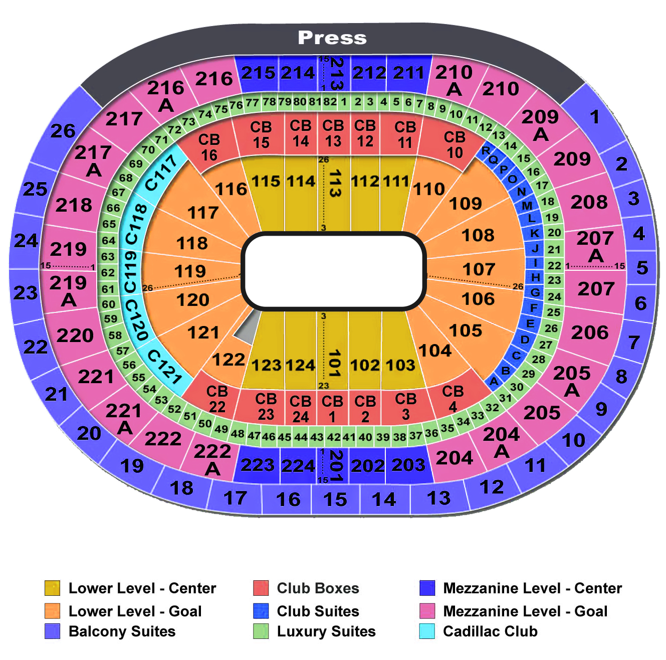 Seating wellsfargo center tickets wells fargo also philadelphia tickets schedule rh goldstar