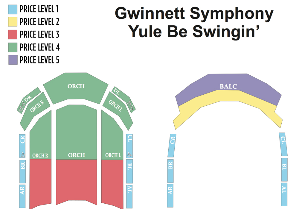 Infinite energy center theater gwinnett symphony ballet theatre seating also atlanta tickets schedule rh goldstar