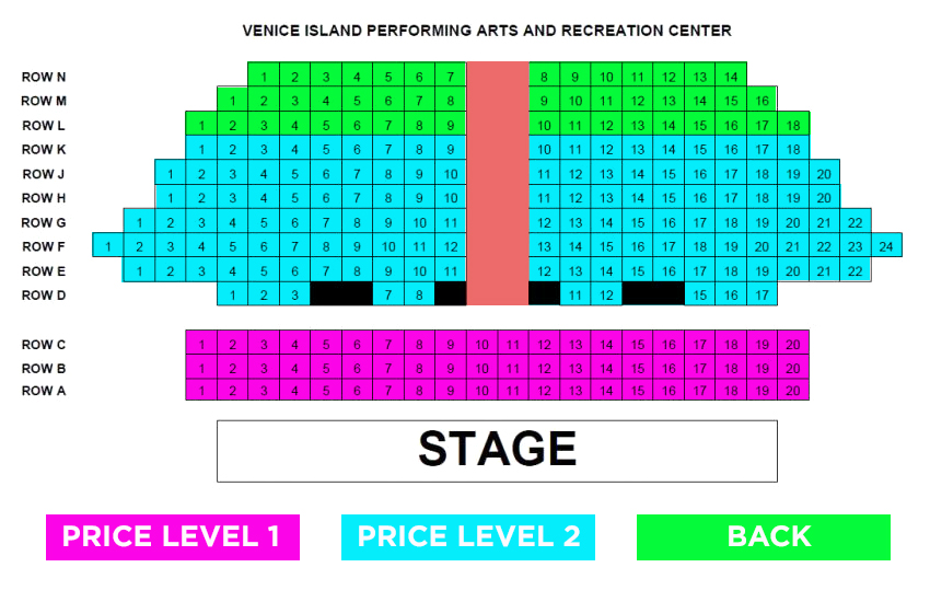 Alice in wonderland seating venice island performing arts center seussical tickets also philadelphia rh goldstar