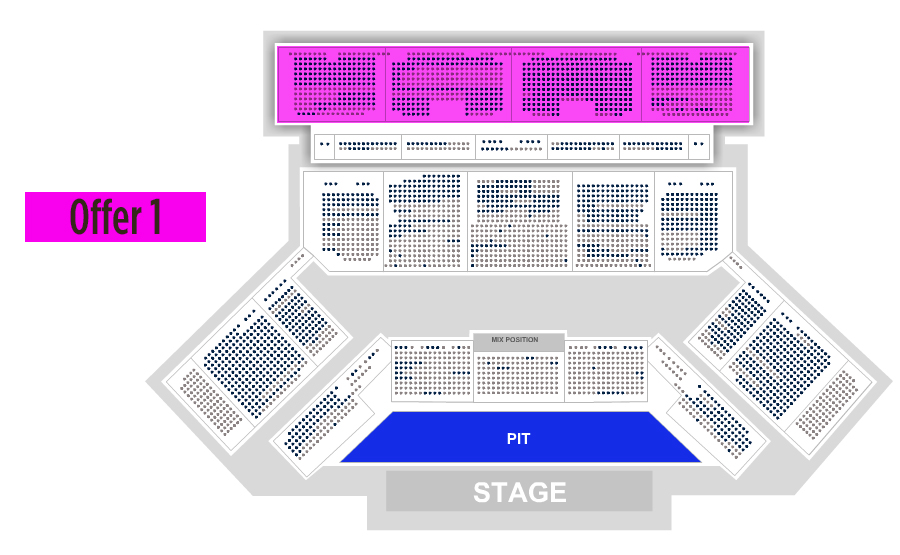 Seating charts oakdale theatre also toyota hartford tickets schedule rh goldstar