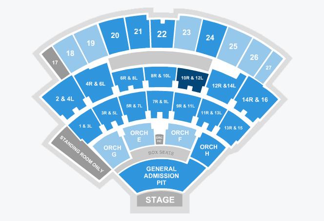 Gwen stefani jones beach theatre taste of chaos sc seating also northwell health at theater new york tickets schedule rh goldstar